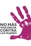 Acto en contra de la violencia de género en Castellón