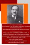 Aniversario de don Vicente Blasco Ibáñez
