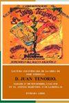 Lectura escenificada de Don Juan Tenorio de José Zorrilla