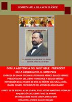 Acto de Homenaje a Vicente Blasco Ibáñez