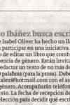 El Ateneo Blasco Ibáñez busca escritores