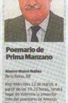 13 marzo 2013: Las Provincias
