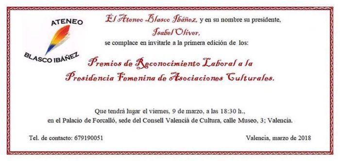 Premios de Reconocimiento Laboral a la Presidencia Femenina