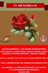 Acto de Homenaje a los Socios Desaparecidos