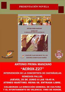 """""""Acrox-Z27"""" de Antonio Prima Manzano"""