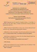 XII Jornadas de Escritores Pro Derechos Humanos Valencia 2019