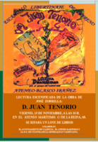 Don Juan Tenorio 2019