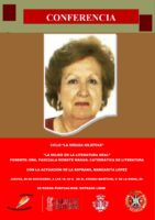 NUEVO VÍDEO: Pascualita Morote: La mujer en la literatura oral