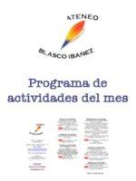 Programa del mes de marzo 2020
