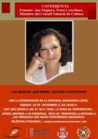 Ana Noguera: Las mujeres, ¿qué somos, lectoras o escritoras?