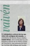 Embajadora Cultural de la Ciudad de Chinchorro